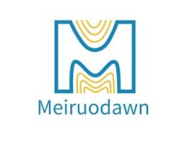 Meiruodawn店铺logo头像设计