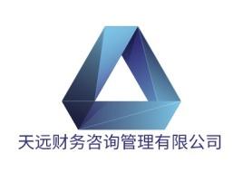 天远财务咨询管理有限公司公司logo设计