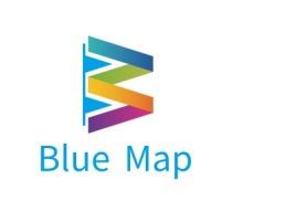 Blue Map公司logo设计