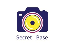 Secret  Base门店logo设计