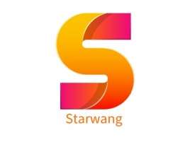 Starwang门店logo设计