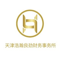天津浩瀚良劲财务事务所公司logo设计