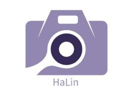 HaLin门店logo设计