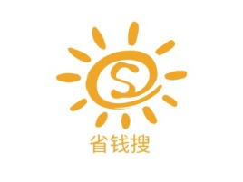 省钱搜门店logo设计