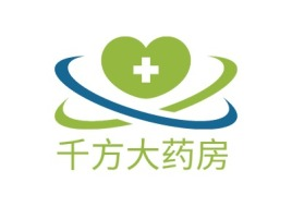 千方大药房门店logo设计