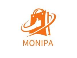 MONIPA店铺标志设计