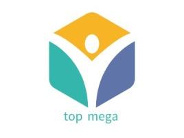 top mega公司logo设计