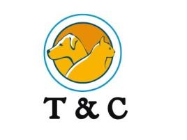 T & C门店logo设计
