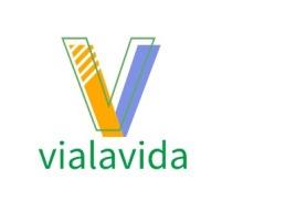 vialavida店铺标志设计