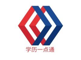 学历一点通logo标志设计