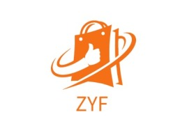 ZYF店铺标志设计