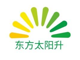 东方太阳升企业标志设计