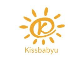 Kissbabyu门店logo设计