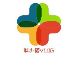 胖小薇VLOG门店logo设计