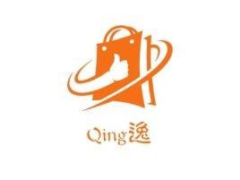 Qing逸店铺标志设计