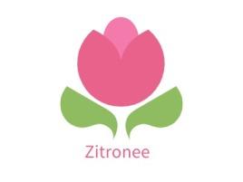 Zitronee店铺标志设计
