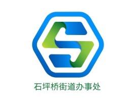 石坪桥街道办事处logo标志设计