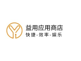 快捷-效率-娱乐公司logo设计