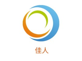 佳人品牌logo设计