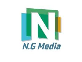N.G Media公司logo设计