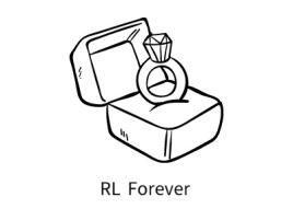 RL Forever店铺标志设计