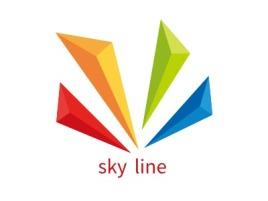 sky line店铺标志设计