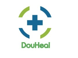 DouHeal门店logo标志设计