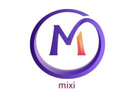 mixi店铺标志设计