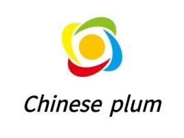 Chinese plum门店logo设计