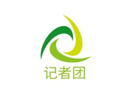 记者团logo标志设计