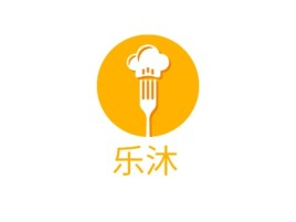 乐沐店铺logo头像设计