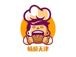 畅游天津店铺logo头像设计
