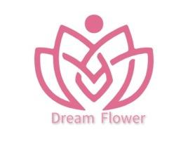 DreamFlower店铺标志设计