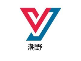 潮野公司logo设计