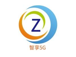 智享5G品牌logo设计