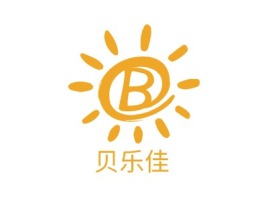 贝乐佳门店logo设计