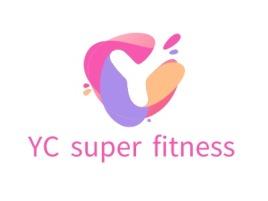 YC super fitnesslogo标志设计