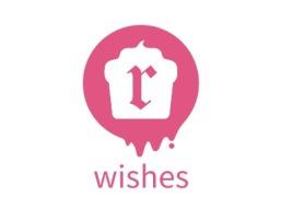 wishes店铺标志设计