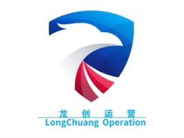 龙  创  运  营  LongChuangOperation公司logo设计