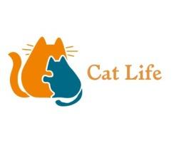 Cat Life门店logo设计