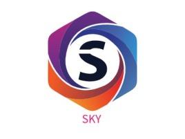 SKY公司logo设计