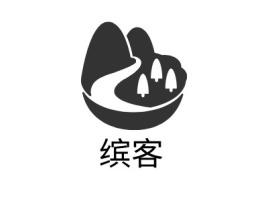缤客logo标志设计
