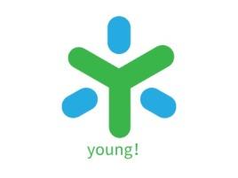 young!品牌logo设计