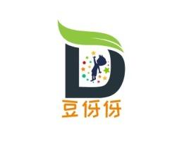 豆伢伢门店logo设计