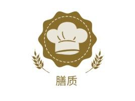 膳质店铺logo头像设计