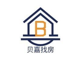 贝嘉找房企业标志设计