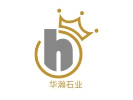 华瀚石业公司logo设计