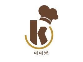 可可米店铺logo头像设计
