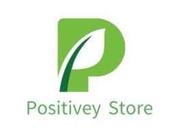 Positivey Store店铺标志设计