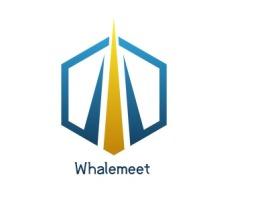 Whalemeetlogo标志设计